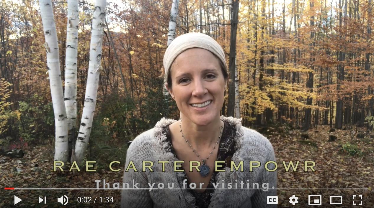Rae Carter an inspirational Vermont speaker