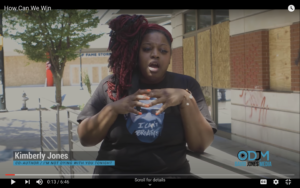 Kimberly Latrice Jones speaks about Black Lives Matter protests