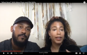 Myra Flynn and Phil Wills speak about Black Lives Matter protests